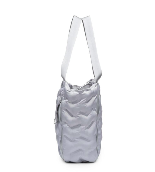 Puffy Easy Tote - Silver