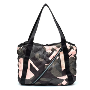 Puffy Easy Tote - Camo/Rose