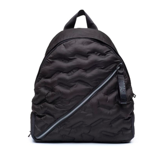 Puffy Round Backpack - Black
