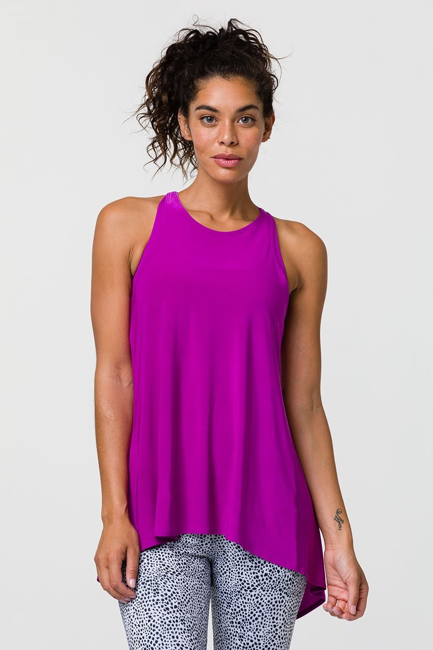 Onzie Orchid Tie Back Tank