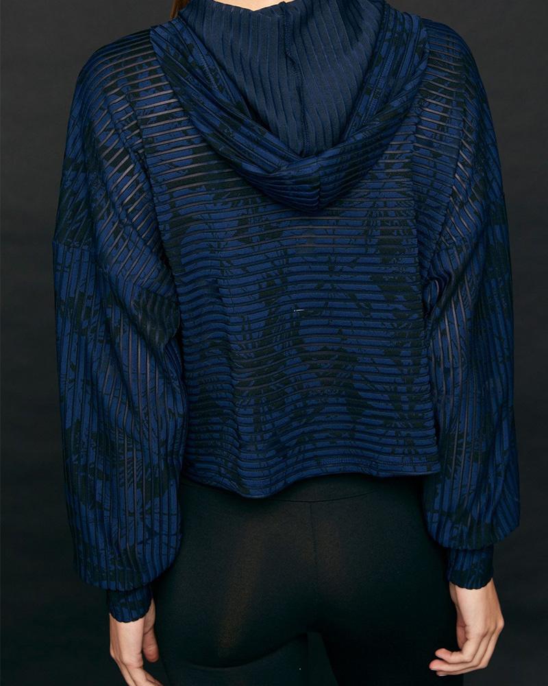 Lanston Bodhi Pullover Black/Blue