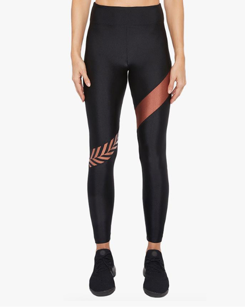 Koral Aello Limitless Black/Bronze High Rise Legging