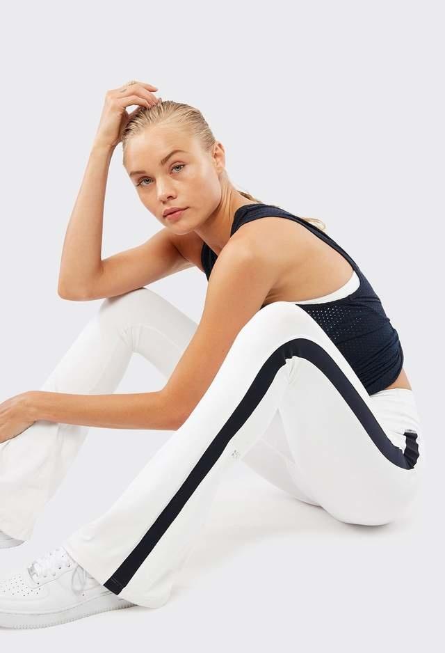 Splits59 Raquel Stripe Tight White/Indigo