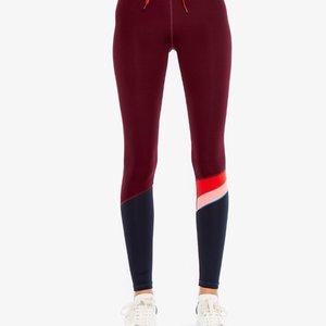The Upside Maroon Retro Yoga Pant