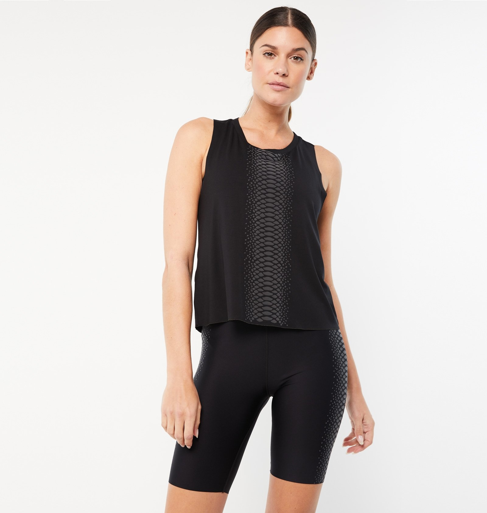 Ultracor Boa Racerback Tank Nero Graphite