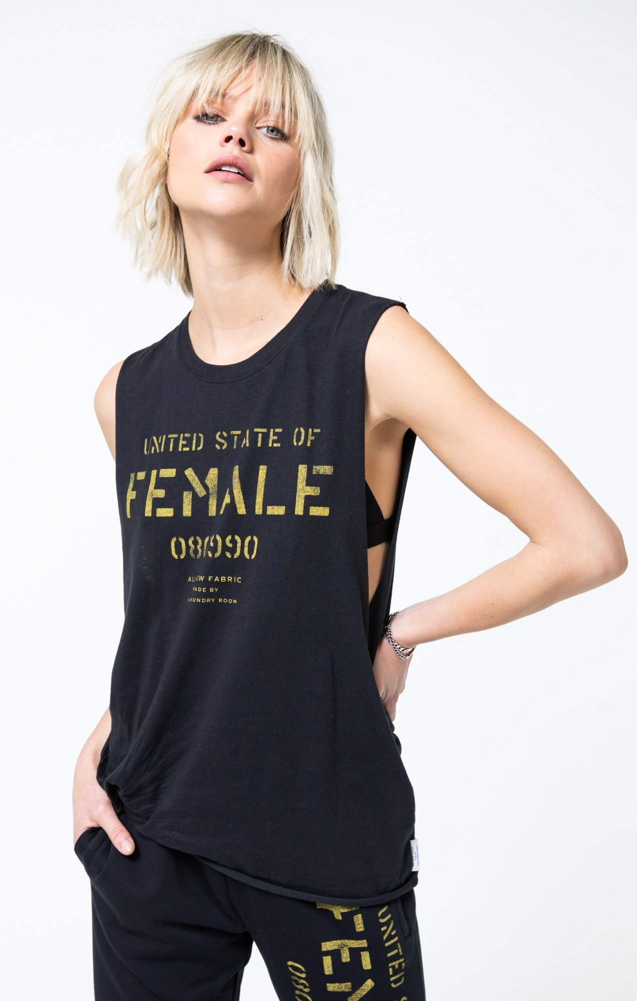 The Laundry Room Female State Muscle Tank