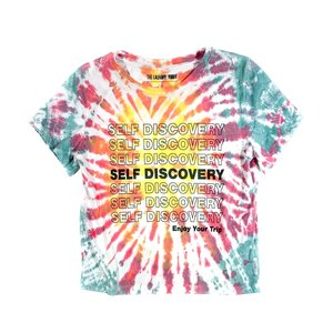 The Laundry Room Self Discovery Classic Crop Tee