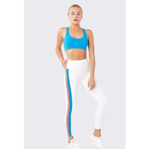 Splits59 Dakota HW 7/8 Tight Off White/Neon Multi