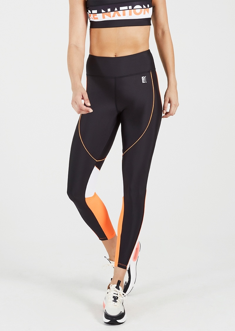 P.E. Nation Tracker Black Legging
