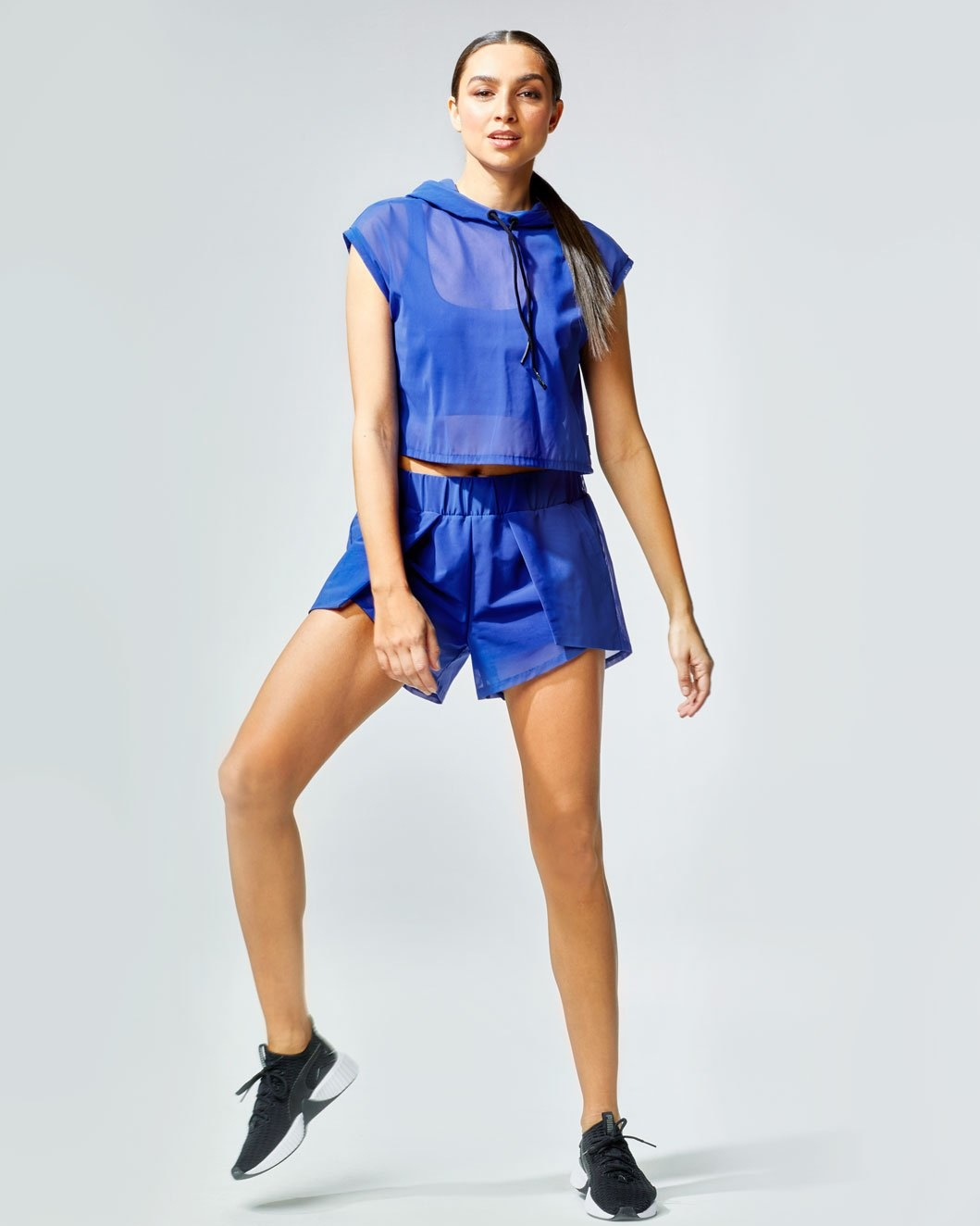 Michi Drive Short Royal Blue
