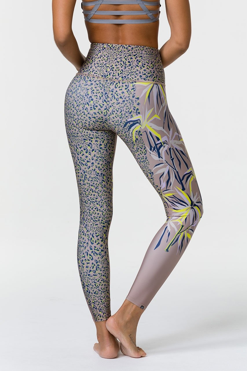 Onzie Graphic High Rise Midi Legging Origami