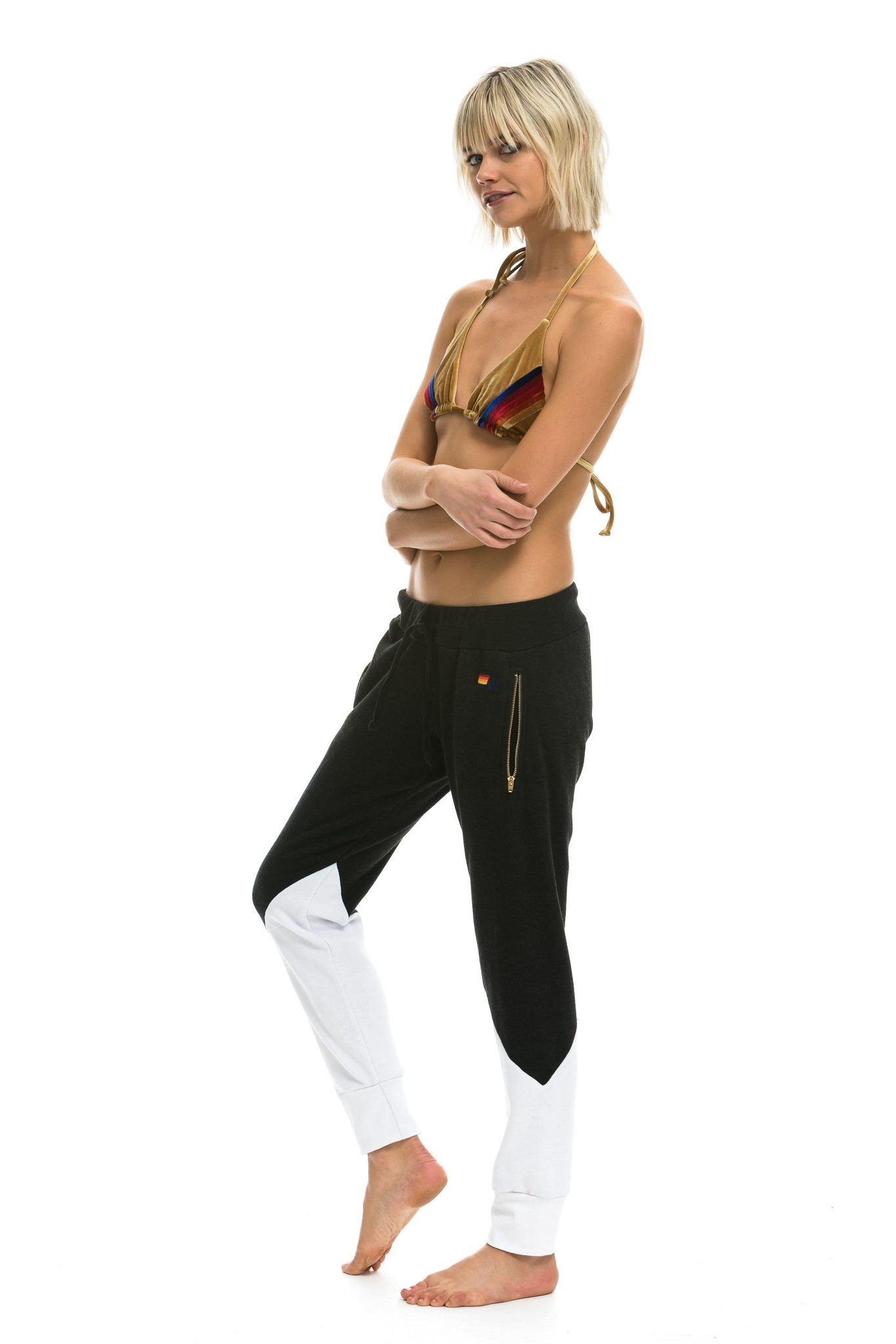 Aviator Nation Glider Pant Blk/Wht