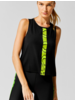 Ultracor Python Racerback Tank Nero Neon Yellow