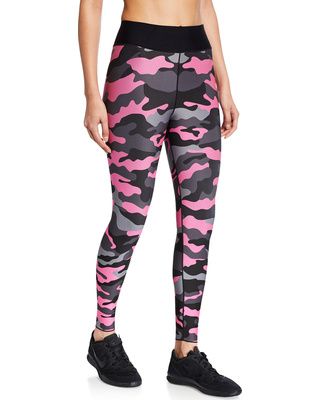 Ultracor Ultra High Neon Camo Legging Neon Pink