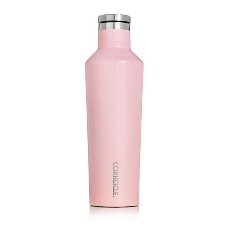 Corkcicle Canteen Gloss Rose Quartz 20oz