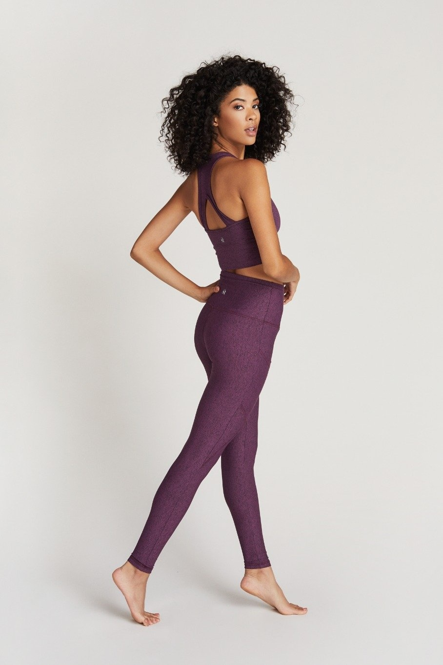Strut This Flynn Ankle Plum Speckle