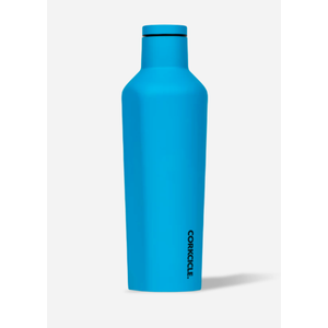 Corkcicle Canteen Neon Lights Neon Blue 25oz