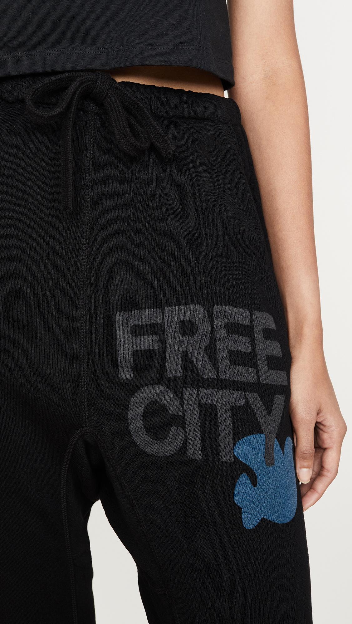 Free City Superfluffpocketlux Sweatpant Superblack