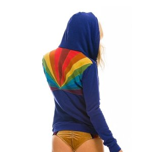 Aviator Nation Sunburst Zip Hoodie Parachute