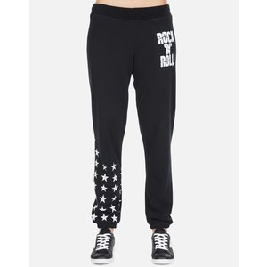 Lauren Moshi Gia Long Sweatpant RnR Star Leg L