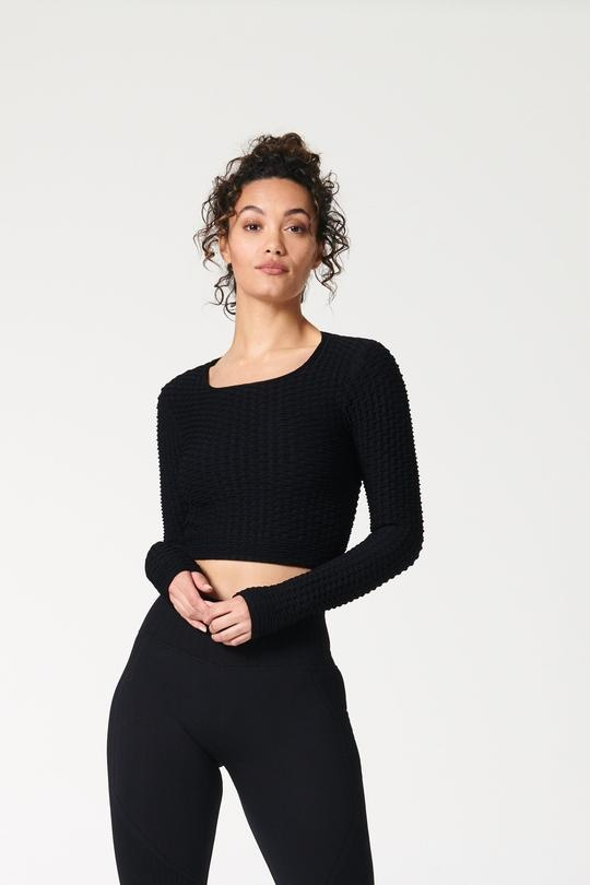 Layer Up Long Sleeve Black