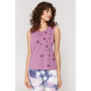 Spiritual Gangster Active Flow Top Wildberry