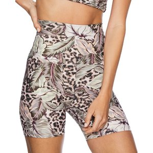 Beach Riot Bike Short Palm Leopard