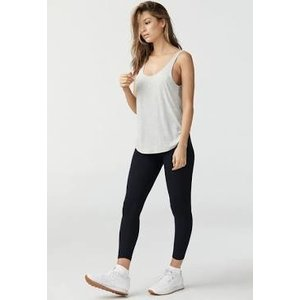 Joah Brown Ideal Tank Pearl Grey Rib