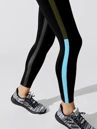 Splits59 Inline 7/8 Legging Black/LTBlue Multi