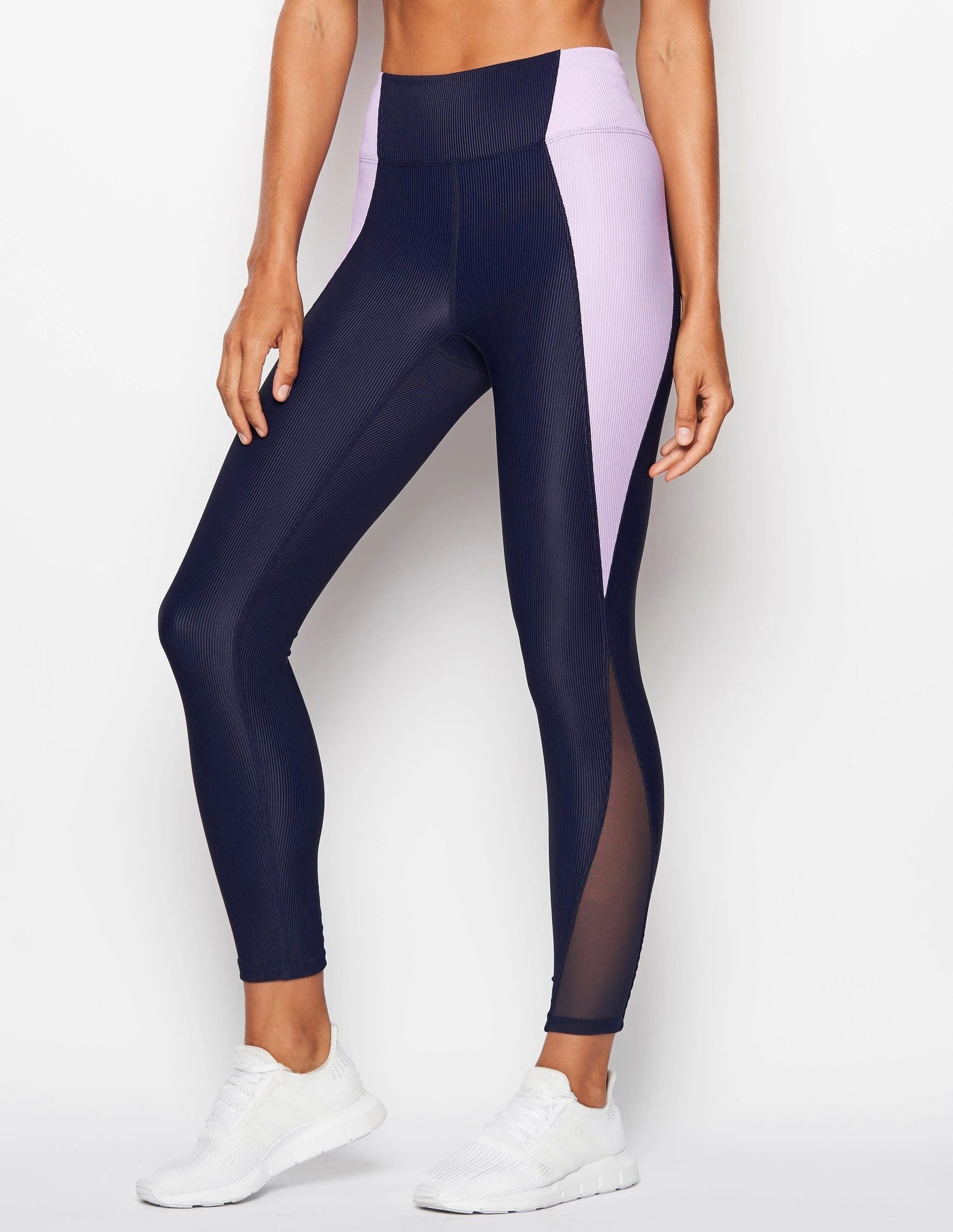 Heroine Sport Gym Legging Navy/Lilac