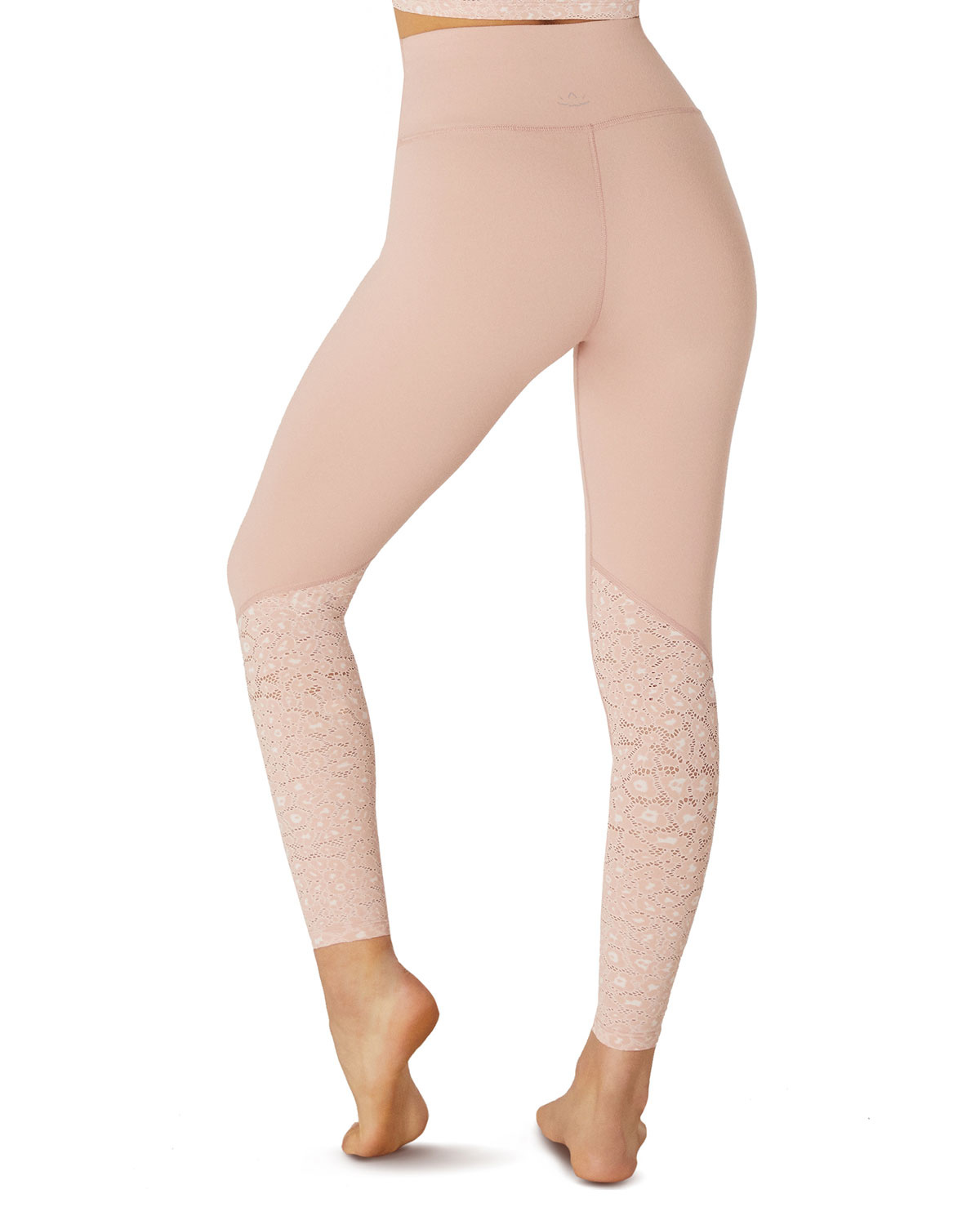 Back Me Up Legging Tinted Rose