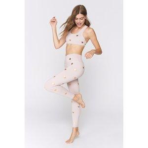 Spiritual Gangster Heart Essential HW Legging Rose Quartz