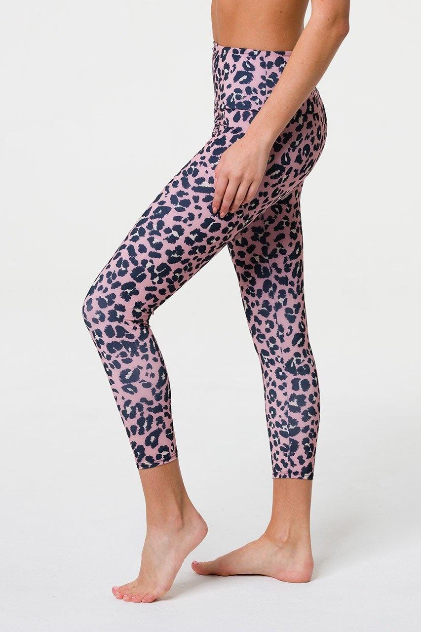 Onzie High Basic Midi Rose Leopard