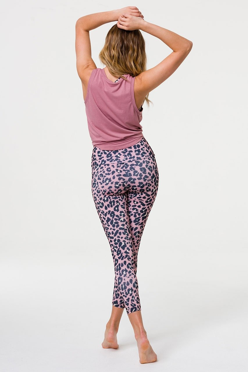 Onzie Knot Tee Ash Rose