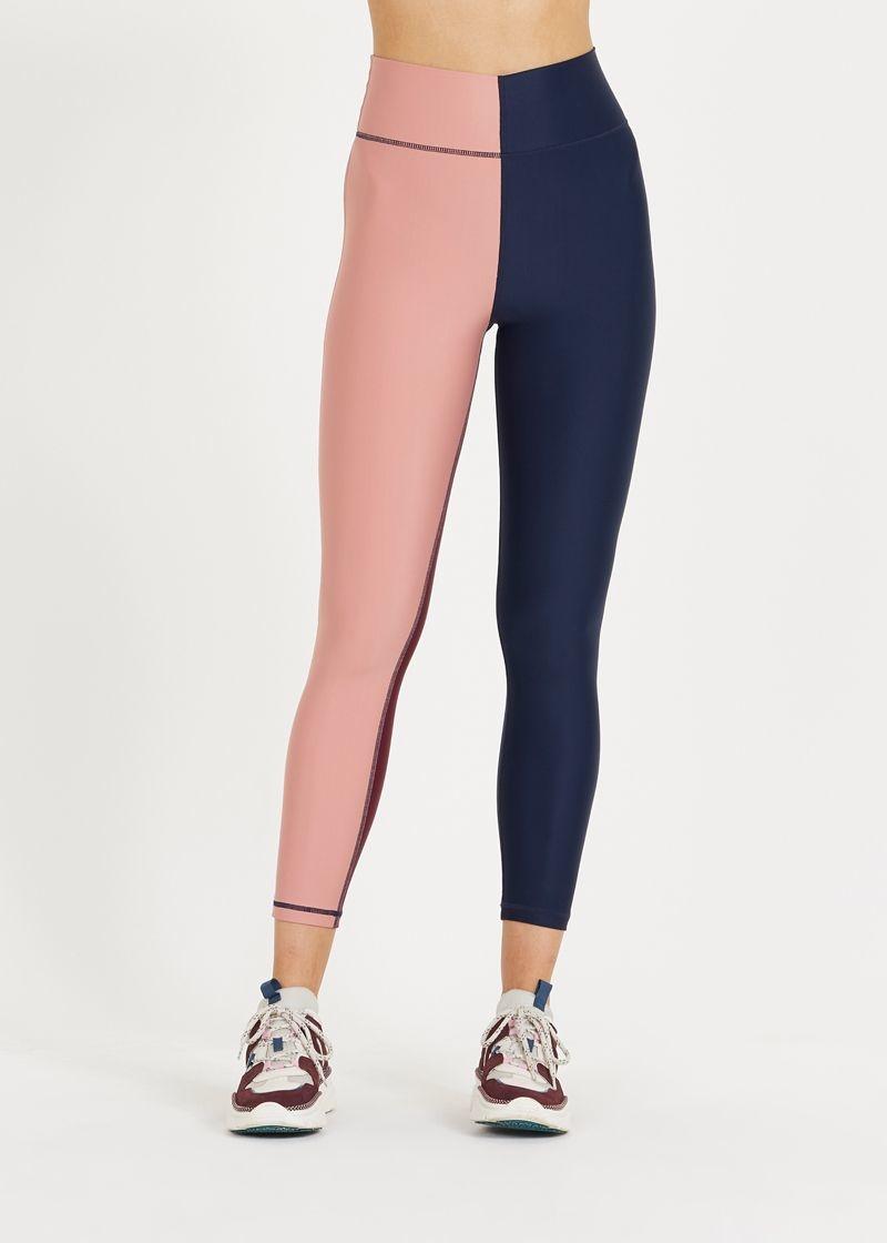 The Upside Harlequin Dance Midi Pant Navy/Multi