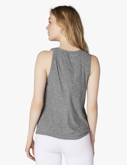 Beyond Yoga All For Ties Tank Black/White