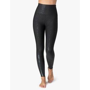 Alloy Ombre HW Midi Legging Black Foil Speckle