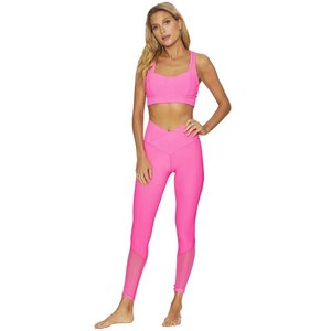 Beach Riot Katrina Rib Legging Fruit Punch