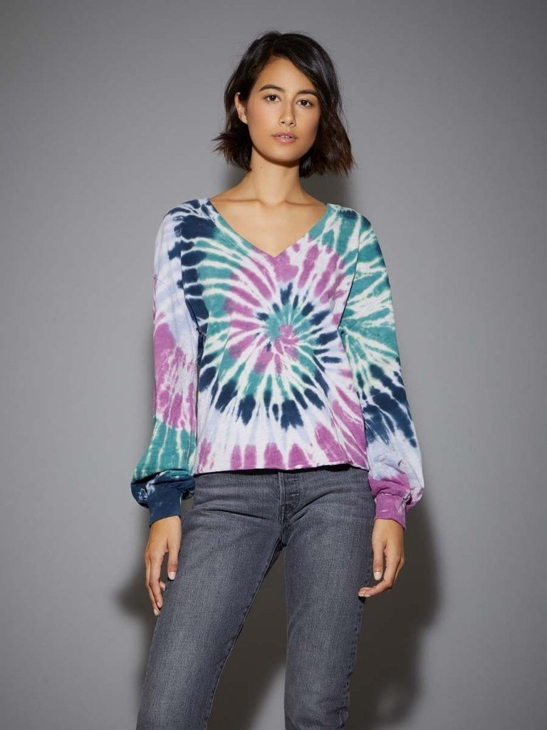 Nation Willa Tie Dye Puff SLV Cocoon Teen Spirit