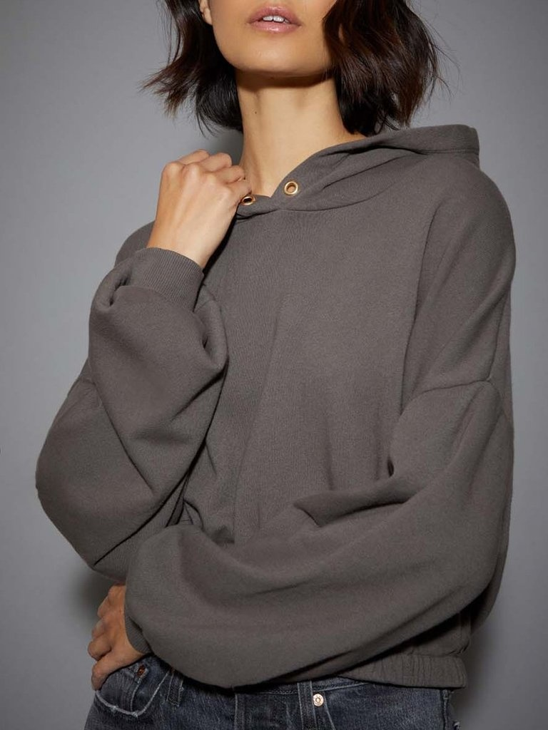 Nation Lotty Crop Hoodie W/Gold Artichoke