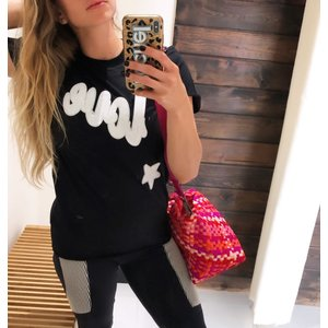 Sojara Love & Stars Black/White Tee