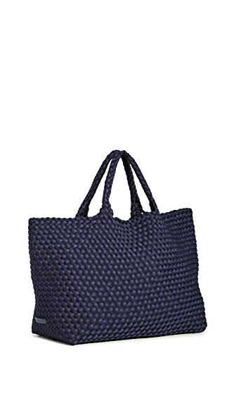 Naghedi St. Barths Large Tote - Ink Blue