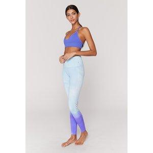 Spiritual Gangster Self Love Legging Blue Purple Dip Dye