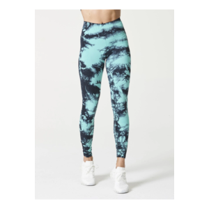 One By One Legging Hand-Dye Mint/Black