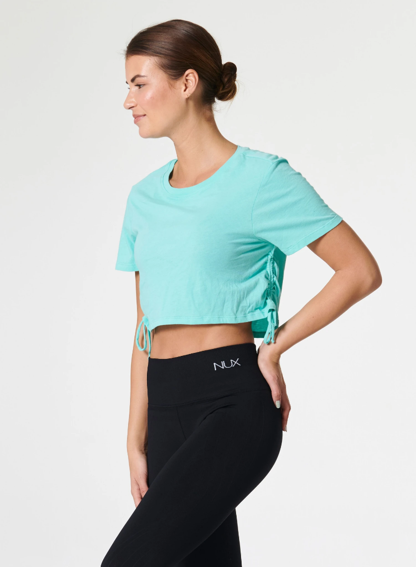 Keep It Cropped Tee Mint Musing