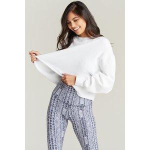 Strut This Sonoma Sweatshirt White OS