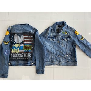 Sojara Blue Denim Woodstock Jacket