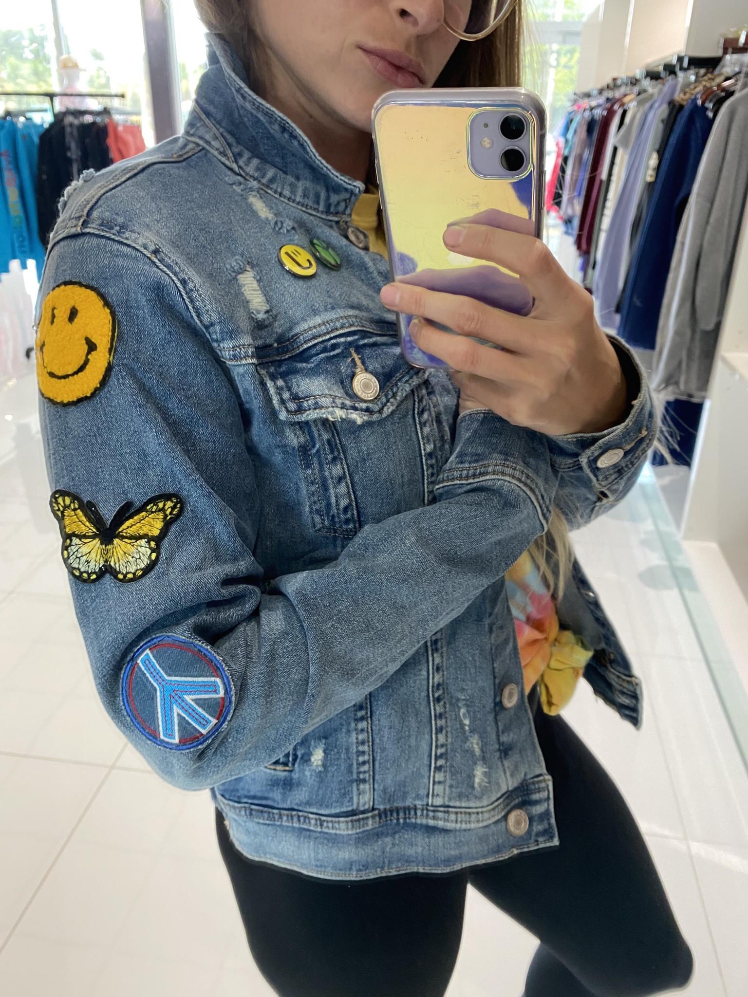 Sojara Blue Denim Woodstock Jacket