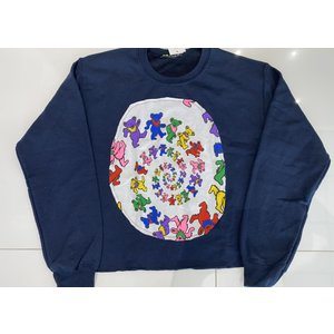 Sojara Navy Dancing Bears Sweatshirt