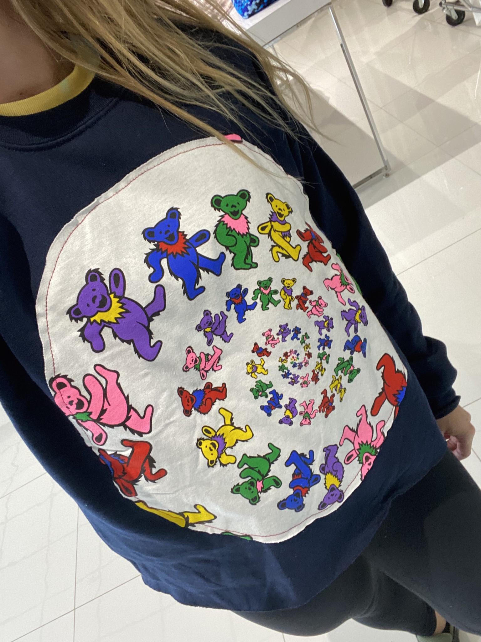 Sojara Navy Dancing Bears Sweatshirt